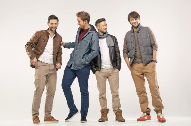 4人の男性