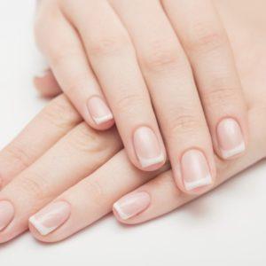 素爪がきれいな手